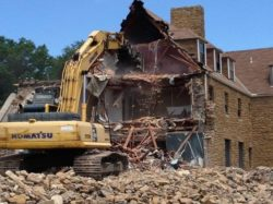 Fort Pickett Barracks Demolition