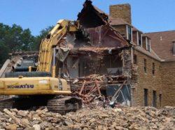 Fort Pickett Barracks Demolition