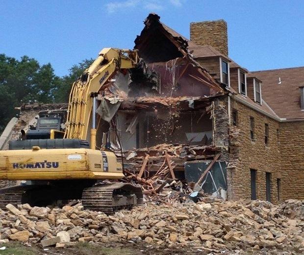 barracks demolition
